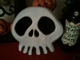 Nightmare Befor Christmas Haunted Mansion Skull by kam3153