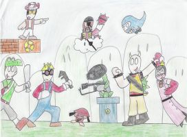 Super Mario Fortress 2 by Kaydragon