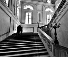 Love into the stairs by marco52