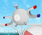 Magnemite by EbonyShroud
