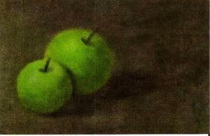 Green apples by thedybre