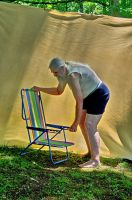 2015-06-10 Beach Chair Poses 39 by skydancer-stock
