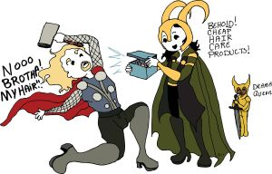 Thor why you such a drama queen? by jennamuraki