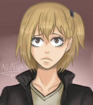 Yachi Hitoka by AquaFlox