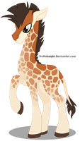 My Little Giraffe by WolfsKnight