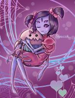 Muffet and Cupcake by Ulty-So