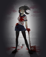 [ Yandere Simulator ] Ayano by ShellyDreams