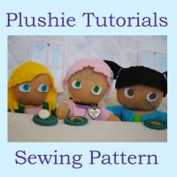 Plushie Tutorials: Sewing Pattern by MissLunaRose