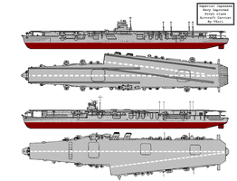 Improved Soryu Class Carriers by Tzoli