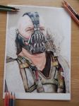 Bane colour pencil drawing by sdw-art