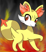 Fennekin-GIMP Version by Destiny-The-Hedgimon