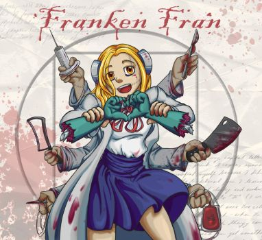 Franken Fran is here to help by Melle-d