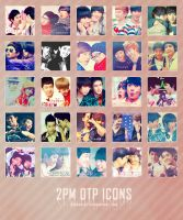 Icon pack 4: 2PM couples by kimbopeep