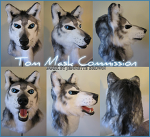 Tom Mask Commission by sugarpoultry