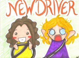 New Driver Poster by LindyArt