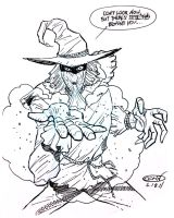 Scarecrow ink by ScottCohn