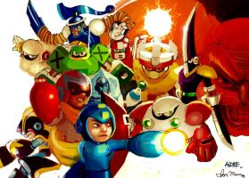 The Megaman 10 Collab Proj by spdy4