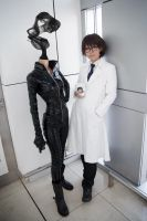DRRR Celty and Shinra by yui930