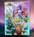 SuperToyCon Poster Illustration by DeJarnette