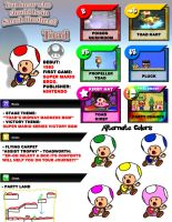 Newcomer Toad by evilwaluigi