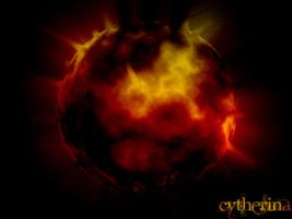 fiery planet by cytherina