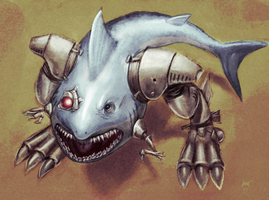 Sharkbot by S--F