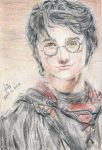 Daniel Radcliffe as Harry Potter by PetiteHands