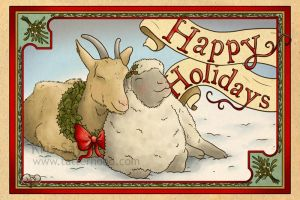 Holiday Cards 2011 - Everybody Say Love by Tatter-Hood