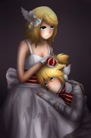 Rin and Len Kagamine - Magnet by LadyGalatee