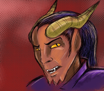 The DnD 4e Tiefling by DLNorton