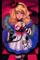 Alice in badassland by WikkidStudio