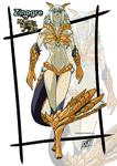 Female version: Zinogre by KukuruyoArt