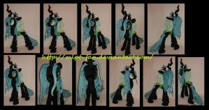 Queen Chrysalis V3 (revised pattern) by MLPT-fan
