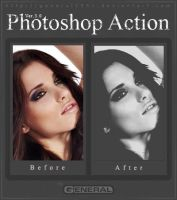 Photoshop Action Ver. 3.0 by General1991