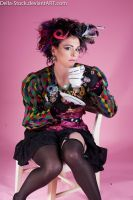 Mad Hatter Tea Party.3 by Della-Stock