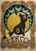 umbreon by ASTROPUNCH