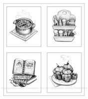 Chilies clip art by littlecrow
