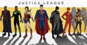 Justice League by JackNapierlauching
