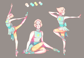Ballerina Pearl by downtheartsyhollow
