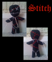 Stitch the voodoo doll by Jack-O-AllTrades