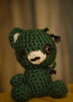 Zombie Teddy by kaelby