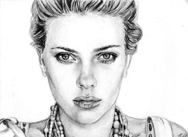 Scarlett Johansson 6 by Csillipepper