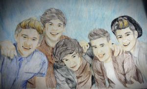 One Direction Group 2013 by ConsultingTimeLord96