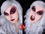 Banshee Halloween Makeup w/ Tutorial by KatieAlves