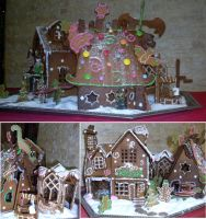Gingerbreadhouse(s)2013 by Ametyr