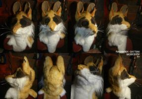 Dormouse - mask for LARP by RagnareK