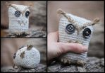 Rustic Owl toy by Little-Blind-Chicken