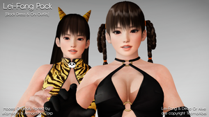 [MMD] Lei-Fang Double Pack - DL by MrWhitefolks