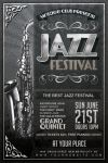 Vintage Jazz Festival Flyer by Dilanr
