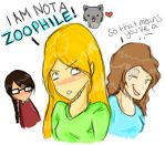 Shiver: Grace Is A Zoophile by kissymwah